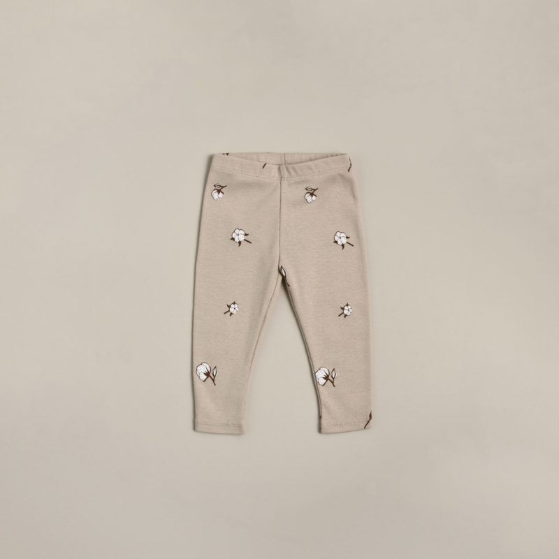 Organic zoo Leggings // Cotton Field
