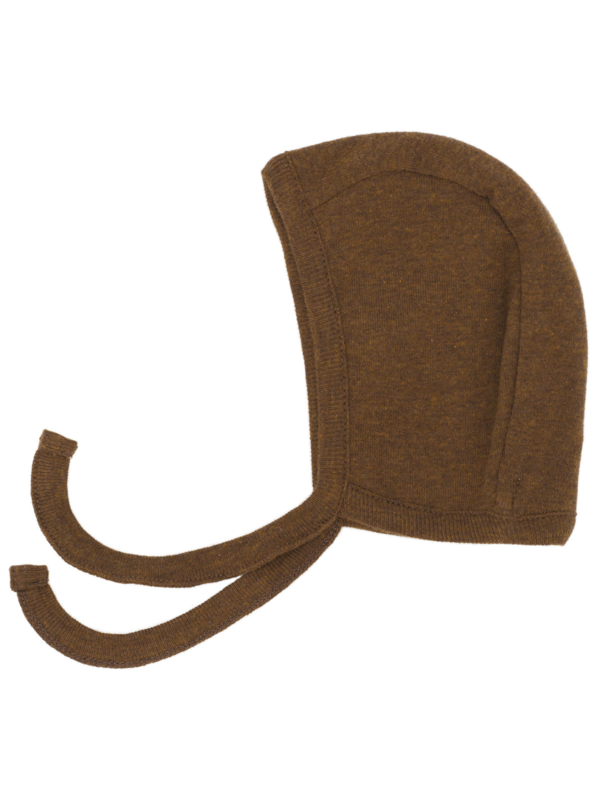 Serendipity Newborn bonnet // Caramel
