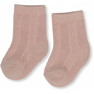 Konges slojd - Fuma sock pointelle - Blush