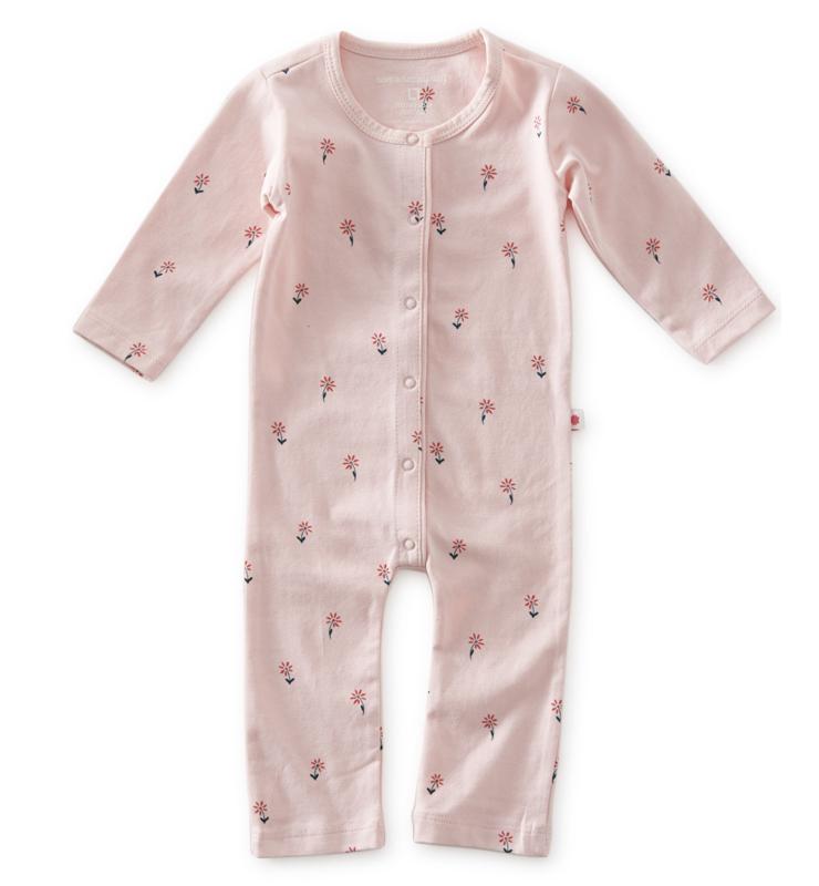 Babypakje - light pink - Flowers