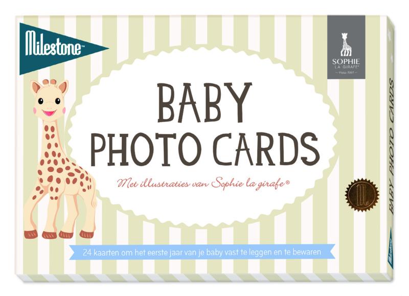 Milestone® Baby Photo Cards - Sophie la girafe