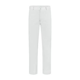 BORKLE Werkbroek in jeansmodel met bijzak wit of blauw