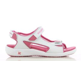 Comfortabele sandaal in leder