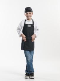 Bavetschort Kids Zwarte Jeans W50-L55