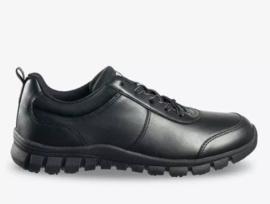 KAYLA - Lederen werk sneaker die voorziet in comfort, veiligheid en stijl.