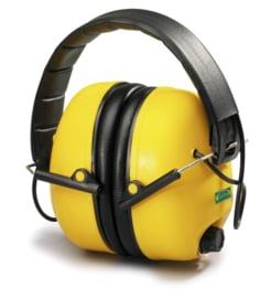Elektronische geluidsdemper met RADIO