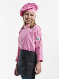Chef Jacket Kids Roze