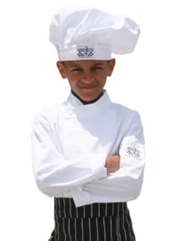 Chef Jacket Kids Wit