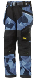 Flexi Werkbroek Camo 4 KIDS