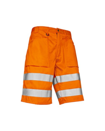 BLAKLADER 1537 Short HI-VIS oranje