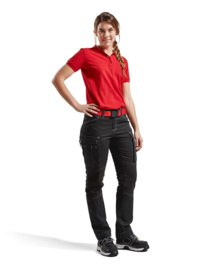 Dames Service Werkbroek Jeans Stretch Black