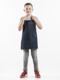 Bavetschort Kids Blauwe Jeans W50-L55