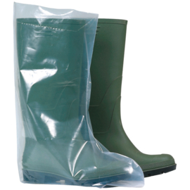 Boots-cover  Polyetheyleen, Transparant - per 50 paar