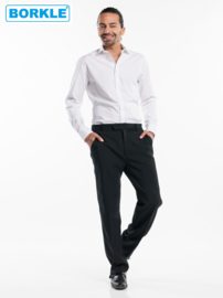 Hemd / Shirt Men White Stretch