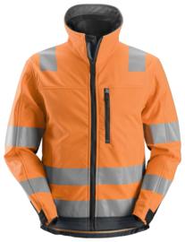 1230 AllroundWork, High-Visibility Softshell Jack Klasse 3