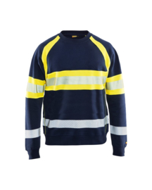Multinorm vlamvertragende HI-VIS Sweater