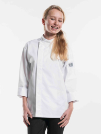 Chef Jacket Teenager Wit