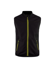 3850 Softshell Bodywarmer met stretch