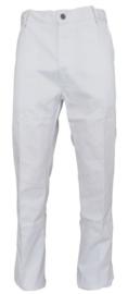 Werkbroek BORKLE- jeansmodel met meterzak wit of blauw