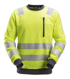8037 AllroundWork High-Vis Sweatshirt KL2/3