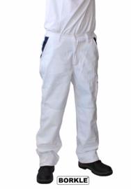 BORKLE-broek wit met vlaggetje