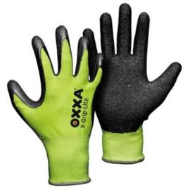 OXXA Handschoen X-Grip Lite - Geel/Zwart
