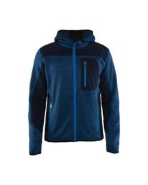 BLAKLADER 4930 gebreid vest met softshell