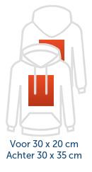 Voor- & Achterkant Groot Logo