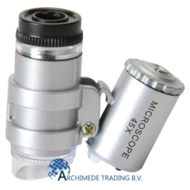 MICROSCOOP 45X MET LED VERLICHTING
