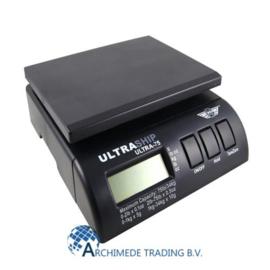 MY WEIGH ULTRASHIP ULTRA-75 TOT 34 KG +/- 5 GRAM BLACK