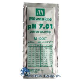 MILWAUKEE M10007B PH 7.01 IJKVLOEISTOF 20 ML (DOOS 25 STUKS)