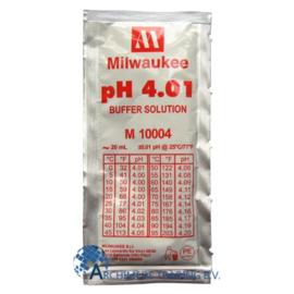 MILWAUKEE M10004B PH 4.01 IJKVLOEISTOF 20 ML (DOOS 25 STUKS)