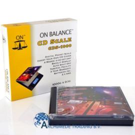ON BALANCE CD SCALE CDS-1000 1000 X 0.1 GRAM