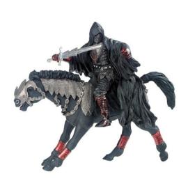gezichtloze ruiter met paard