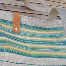 Zomertas Summerbreeze Stripes Green