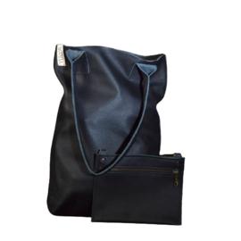 Shopper Plain M/ T-Black