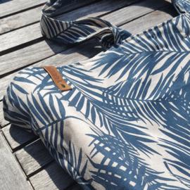 Zomertas Summerbreeze Palm Leave Ocean Green