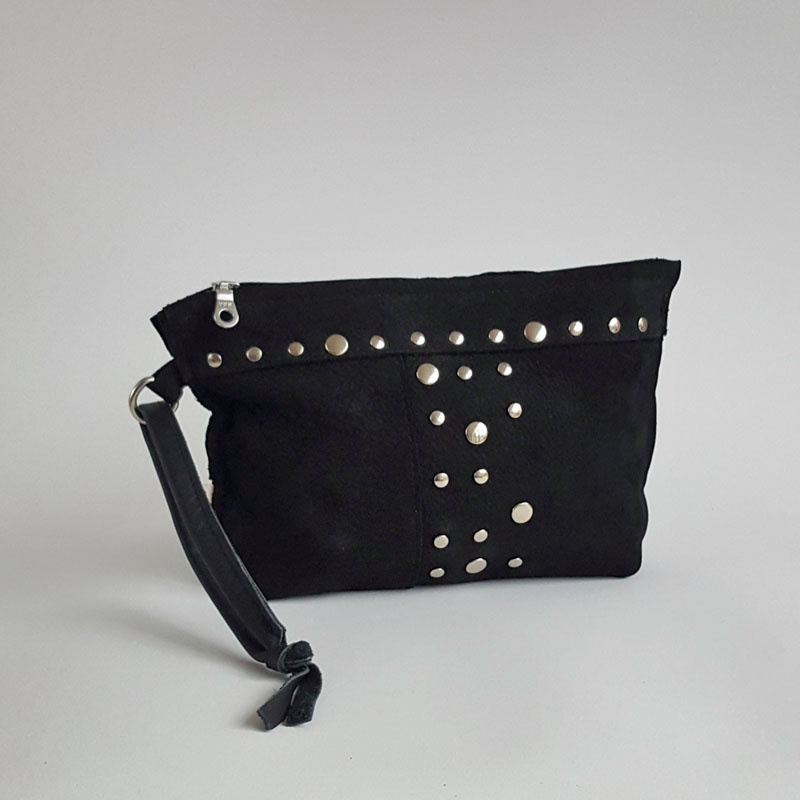 Clutch/ Envelope  ONE Nubuck Sparkle