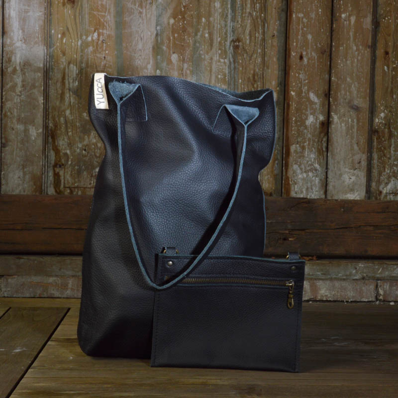 Shopper Plain M/ T-Black