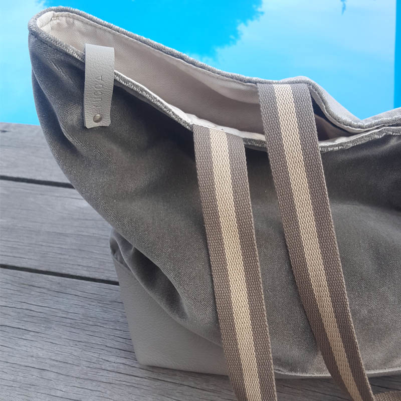 Zomertas Summerbreeze Velvet/Velours grey