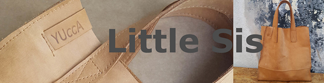 Leren mini shoppers handgemaakt