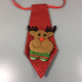 Kerst stropdasje Rudolf