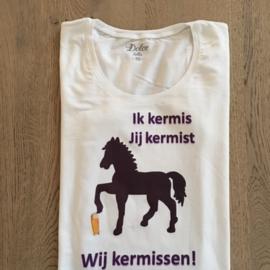 T-shirt heren KV - Ik Jij Wij kermissen!