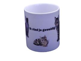 Kattenfamilie - drinkmok