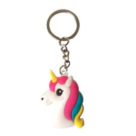 Eenhoorn sleutelhanger Roze-Pony