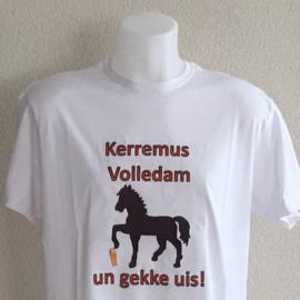 T-shirt heren - Kerremus Volledam un gekke uis!