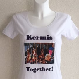 T-shirt dames - Kermis together!