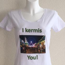 T-shirt dames - I kermis you!