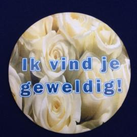 Witte rozen - spiegeltje