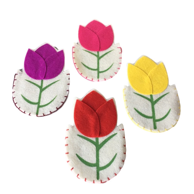 Tulpen bestekhouder